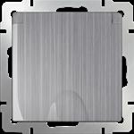 Изображение Розетка влагозащ. с зазем. с защит. крышкой и шторками (глянцевый никель)