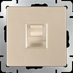 Изображение Розетка Ethernet RJ-45 (шампань)