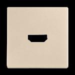 Изображение Накладка для розетки HDMI (шампань)