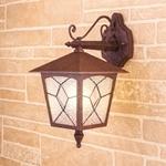 Изображение Lyra D брауни уличный настенный светильник