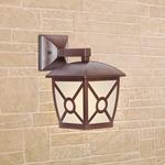 Изображение Columba D коричневый уличный настенный светильник