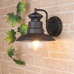 Изображение Talli D черный уличный настенный светильник