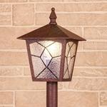 Изображение Lyra F брауни уличный светильник на столбе IP44