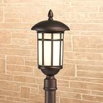 Изображение Lepus F кофейное золото уличный светильник на столбе IP44