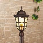 Изображение Dorado F кофейное золото уличный светильник на столбе IP44