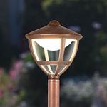 Изображение Gala F брауни уличный светодиодный светильник на столбе IP44
