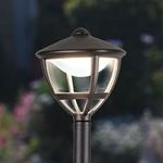Изображение Gala F черный уличный светодиодный светильник на столбе IP44