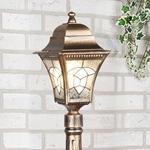 Изображение Светильник на столбе Altair F черное золото