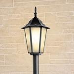 Изображение Уличный светильник на столбе IP44 GL 1014F черный