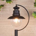 Изображение Talli F черный уличный светильник на столбе IP44