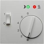 Изображение S.1/B.3/B.7 Накладка для терморегулятора, белый матовый Berker