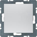Изображение S.1/B.3/B.7 Заглушка, алюминий матовый Berker