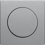 Изображение Q. Накладка поворотного светорегулятора, алюминий бархатный Berker