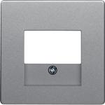 Изображение Q. Накладка для аудиорозетки, алюминий бархатный Berker