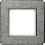 Изображение Q.7 Рамкa 1-местная, нержавеющая сталь Berker