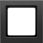 Изображение Q.3 Рамка 1-ная, чёрн. бархат