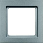 Изображение Q.3 Рамкa 1-ная, алюминий, бархат