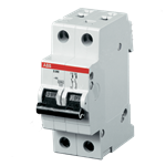 Изображение ABB S202 C10 Автоматический выключатель 2P 10А (С) 6kA