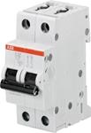 Изображение ABB S202 Автоматический выключатель 2P 10A (D) 6kA