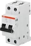 Изображение ABB S202 Автоматический выключатель 2P 63A (D) 6kA