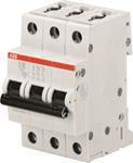 Изображение ABB S203 Автоматический выключатель 3P 10A (D) 6kA