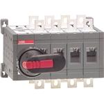 Изображение ABB OT160E04C Выключатель-разъединитель реверсивный 4Р 160А без ручки управления