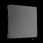 Изображение Клавиша для выключателя перекрестного (графит рифленый)