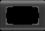 Изображение Рамка для двойной розетки (графит)