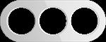 Изображение Рамка на 3 поста (Белый)