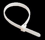 Изображение IEK Хомут 300х4,8мм нейлон белый (100шт)