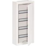 Изображение ABB AT41 Шкаф распределительный навесной (стальная дверь) 48 мод 674х324х140 IP43