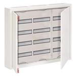 Изображение ABB AT43 Шкаф распределительный навесной (стальная дверь) 144 мод. 674х824х140 IP43