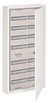 Изображение ABB AT72 Шкаф распределительный навесной (стальная дверь) 168 мод. 1124х574х140 IP43