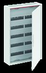 Изображение ABB Шкаф 120 М навесной IP44, 800x550x160 с расстоянием между DIN-рейками 125 мм и винтовыми клеммами N/PE CA25VZRU