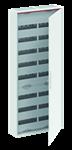 Изображение ABB Шкаф 192 М навесной IP44, 1250x550x160 с расстоянием между DIN-рейками 125 мм и винтовыми клеммами N/PE CA28VZRU