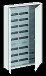 Изображение ABB Шкаф 192М навесной с медиапанелями IP30, 1250x800x160 между DIN-рейками 125 мм и самозажимными клеммами N/PE и дверью с вент. отверстиями CA38VML