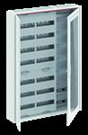Изображение ABB Шкаф 168М навесной с медиапанелями IP30, 1100x800x160 между DIN-рейками 125 мм и самозажимными клеммами N/PE и Wi-Fi дверью с вент. отверстиями CA