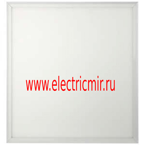 Изображение SPL-510-W-40K-040 ЭРА Светодиодная панель IP40 595x595x8 40Вт 3420Лм 4000К БЕЛ б/драйвера