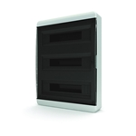 Изображение BNK 40-54-1 Щит навесной 54 мод. IP40 прозрачная черная дверца Tekfor