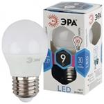 Изображение Лампа светодиодная P45-9W-840-E27 ЭРА (диод, шар, 9Вт, нейтр, E27)