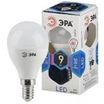 Изображение Лампа светодиодная P45-9W-840-E14 ЭРА (диод, шар, 9Вт, нейтр, E14)