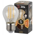 Изображение Лампа светодиодная F-LED P45-5W-827-E27 ЭРА (филамент, шар, 5Вт, тепл, E27)