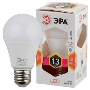Изображение Лампа светодиодная A60-13W-827-E27 ЭРА (диод, груша, 13Вт, тепл, E27)
