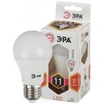 Изображение Лампа светодиодная A60-11W-827-E27 ЭРА (диод, груша, 11Вт, тепл, E27)