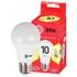 Изображение Лампа светодиодная ECO LED A60-10W-827-E27 ЭРА (диод, груша, 10Вт, тепл, E27)