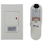 Изображение Anam Legrand Zunis Белый Выключатель 1-клавишный с ДУ 30-300 Вт (2-х проводная схема подкл) для л/н