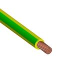 Изображение Провод силовой ПуГВ 1х1.5 желто-зеленый ТРТС многопроволочный